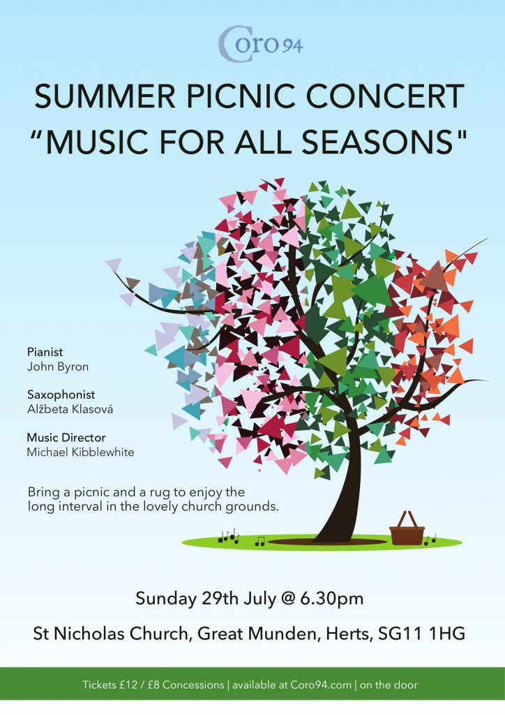 Music For All Seasons Flyer