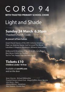 Light & Shade poster